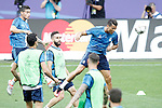 Real Madrid's Cristiano Ronaldo during Champions League 2015/2016 training session. May 27,2016. (ALTERPHOTOS/Acero)
