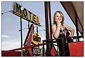 Oklahoma-Route 66<br /> Portrait<br /> Clinton