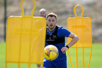St Johnstone Training....   McDiarmid Park   10.08.21<br />Liam Craig pictured during training this morning ahead of Thursday's Europa League Qualfier against Galatasaray.<br />Picture by Graeme Hart.<br />Copyright Perthshire Picture Agency<br />Tel: 01738 623350  Mobile: 07990 594431