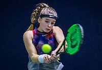 Hilversum, Netherlands, December 2, 2018, Winter Youth Circuit Masters, Anouck Vrancken Peeters (NED)<br /> Photo: Tennisimages/Henk Koster