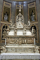 La tomba di San Domenico nella Basilica omonima a Bologna.<br /> The tomb of San Domenico in the homonymous Basilica in Bologna.<br /> UPDATE IMAGES PRESS/Riccardo De Luca
