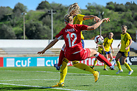 20200307  Lagos , Portugal : Danish midfielder Nicoline Soerensen (14) pictured during the female football game between the national teams of Sweden and Denmark on the second matchday of the Algarve Cup 2020 , a prestigious friendly womensoccer tournament in Portugal , on saturday 7 th March 2020 in Lagos , Portugal . PHOTO SPORTPIX.BE | STIJN AUDOOREN