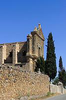 Ruine des Kloster San Frencesco die Caccia im Asco-Tal (1569), Korsika, Frankreich
