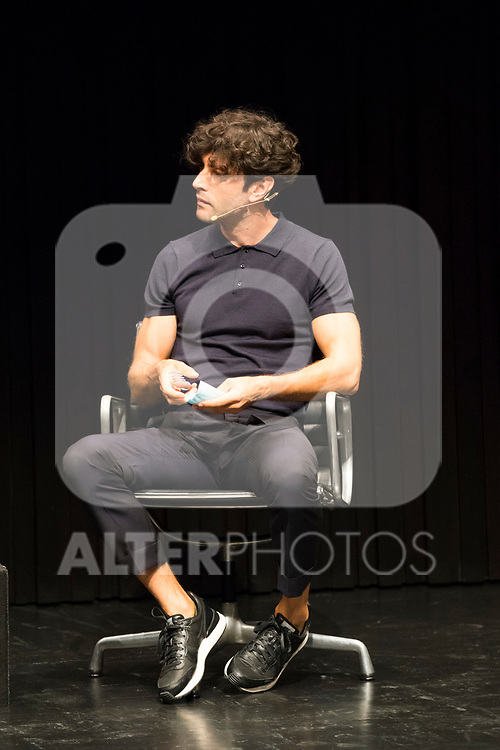Actor Javier Rey during press conference after the end of filiming 'La Casa del Caracol' at Malaga Film Festival 2020 August 23 2020. (Alterphotos/Francis González)