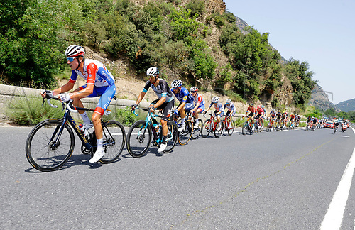 11th July 2021, Ceret, Pyrénées-Orientales, France; Tour de France cycling tour, stage 15, Ceret to  Andorre-La-Vieille;   ARMIRAIL Bruno (FRA) of GROUPAMA - FDJ in the escape group during stage 15 of the 108th edition of the 2021 Tour de France cycling race, a stage of 191,3 kms between Ceret and Andorre-La-Vieille