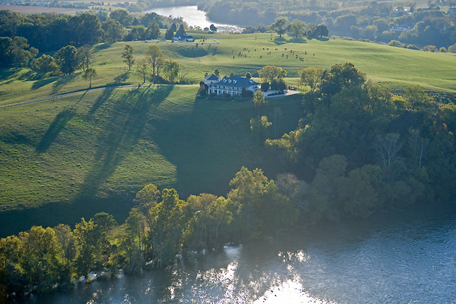 Farming along French Broad River