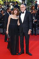 Marie-Josee Croze et Pascal Greggory, sur le tapis rouge pour la projection du film D APRES UNE HISTOIRE VRAIE, hors competition lors du soixante-dixième (70ème) Festival du Film à Cannes, Palais des Festivals et des Congres, Cannes, Sud de la France, samedi 27 mai 2017.