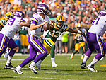 Green Bay Packers against the Minnesota Vikings during a regular season game at Lambeau Field in Green Bay on Sunday, September 16, 2018.