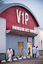 27/03/17 - RUNGIS - VAL DE MARNE - FRANCE - Marche d Interet National de Rungis. Pavillon des viandes - Photo Jerome CHABANNE