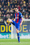 Sergio Busquets Burgos of FC Barcelona in action during their La Liga match between Villarreal and FC Barcelona at the Estadio de la Cerámica on 08 January 2017 in Villarreal, Spain. Photo by Maria Jose Segovia Carmona / Power Sport Images