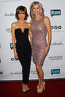 LOS ANGELES, CA, USA - NOVEMBER 18: Lisa Rinna, Eileen Davidson arrive at the Los Angeles Premiere Of Bravo's 'Girlfriends' Guide to Divorce' held at the Ace Hotel on November 18, 2014 in Los Angeles, California, United States. (Photo by Celebrity Monitor)
