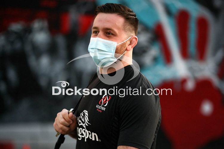 19th March 2021;   Alan O'Connor arriving for the final round of the Guinness PRO14 against Zebre Rugby held at Kingspan Stadium, Ravenhill Park, Belfast, Northern Ireland. Photo by John Dickson/Dicksondigital