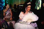 'GAYFEST MANCHESTER, UK', THE LAVENDER BALL . MAN CROSS DRESSING. 1999
