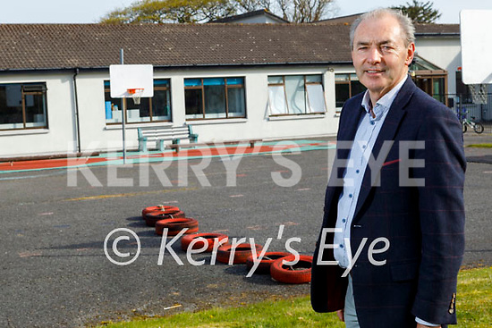 Principal Liam Twomey standing in the St Francis Special School in Beaufort, which was to be a recipient of the Ring of Kerry Charity cycle this year.