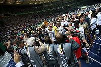 19.05.2018, Olympiastadium, Berlin, GER, DFB-Pokal, Finale FC Bayern Muenchen vs Eintracht Frankfurt<br /> , <br />DFB-Pokalwinner  2018 Eintracht Frankfurt, Jonathan de Guzman (Frankfurt) *** Local Caption *** © pixathlon<br /> Contact: +49-40-22 63 02 60 , info@pixathlon.de