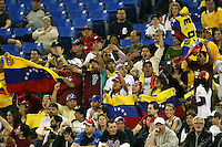 March 8, 2009:  Fans of Venezuela during the first round of the World Baseball Classic at the Rogers Centre in Toronto, Ontario, Canada.  Venezuela lost to Team USA 15-6 in both teams second game of the tournament.  Photo by:  Mike Janes/Four Seam Images