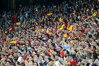Spain's supporters during FIFA World Cup 2018 Qualifying Round match. September 2,2017.(ALTERPHOTOS/Acero)