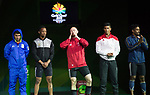 Wales Gareth Evans Mens 69kg <br /> <br /> *This image must be credited to Ian Cook Sportingwales and can only be used in conjunction with this event only*<br /> <br /> 21st Commonwealth Games - Weightlifting -  Day 2 - 06\04\2018 - Carrara Sports Arena 1 - Gold Coast City - Australia