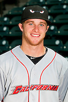 California League All-Star Cory Spangenberg #19 of the Lake Elsinore Storm at BB&T Ballpark on June 19, 2012 in Winston-Salem, North Carolina.  (Brian Westerholt/Four Seam Images)