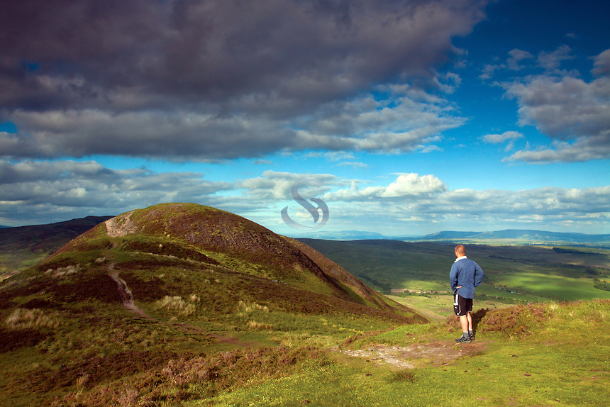 The summit of Conic Hill, Loch Lomond and the Trossachs National Park