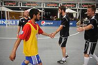 COLUMBUS, OH - US Soccer Futsal court at the Fan HQ.