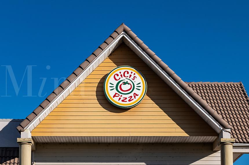 Cici's Pizza restaurant, Kissimmee, Florida, USA.