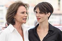 """Jacqueline Bisset, Marine Vacth<br /> """"Amant Double (L'Amant Double')"""" Photocall<br /> Festival de Cannes 2017"""
