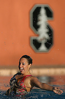 STANFORD, CA - FEBRUARY 7:  Taylor Durand of the Stanford Cardinal during Stanford's 88-78 win against the Incarnate Word Cardinals on February 7, 2009 at Avery Aquatic Center in Stanford, California.