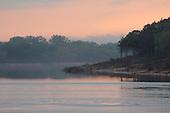 Evening Shades Rippled Lake