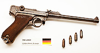 German WWI Revolver.<br />