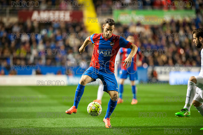 VALENCIA, SPAIN - MARCH 2: Ivan during BBVA League match between VLevante U.D. and R. Madrid at Ciudad de Valencia Stadium on March 2, 2015 in Valencia, Spain