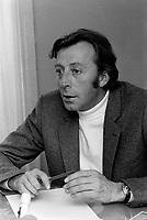 Le comedien Paul Hebert<br /> , le 1er octobre 1970<br /> <br /> Photographe : Photo Moderne<br /> - Agence Quebec Presse