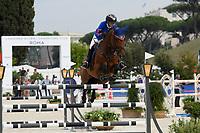10th September 2021; Circo Massimo Stadium Rome, Italy; Longines Global Equestrian Champions Tour: Edwina Tops-Alexander