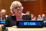 "on ""The Economic Cost of Lesbian, Gay, Bisexual and Transgender (LGBT) Exclusion"" (co-organized by the Permanent Missions of Argentina, Australia, Brazil, Chile, Colombia, Croatia, El Salvador, France, Israel, Japan, Montenegro, the Netherlands, New Zealand, Norway, the United Kingdom and Uruguay, the United States Mission, the Delegation of the European Union, the Office of the United Nations High Commissioner for Human Rights (OHCHR), Human Rights Watch (HRW) and Outright Action International)"