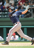 May 18, 2009: Infielder Ryan Barba (6) of the Rome Braves, Class A affiliate of the Atlanta Braves, in a game against the Greenville Drive at Fluor Field at the West End in Greenville, S.C. Photo by: Tom Priddy/Four Seam Images