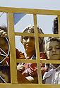 Irak 1991  Le retour des réfugiés: à la frontière de Haj Omran   Iraq 1991 Kurdish refugees coming back: in Haj Omran, the border