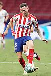 Atletico de Madrid's Saul Niguez during La Liga match. July 3,2020. (ALTERPHOTOS/Acero)