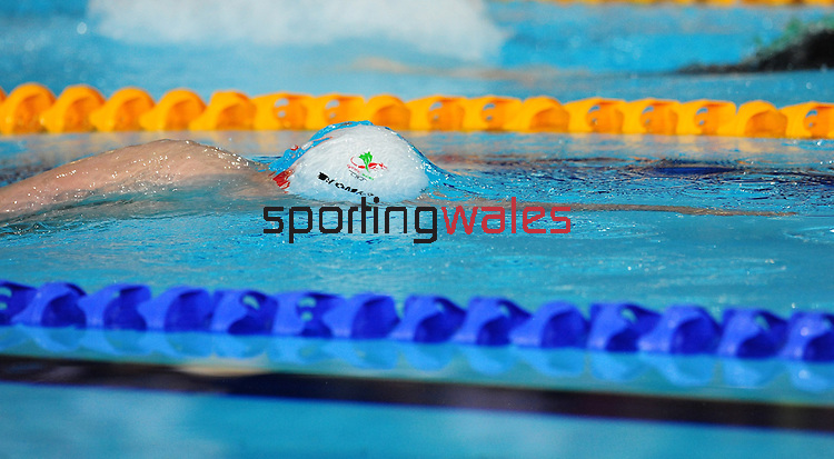 Wales' Jack Thomas takes the bronze medal in the men's para-sport 200m freestyle S14 final<br /> <br /> Photographer Chris Vaughan/Sportingwales<br /> <br /> 20th Commonwealth Games - Day 3 - Saturday 26th July 2014 - Swimming - Tollcross International Swimming Centre - Glasgow - UK