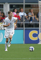 Clarence Goodson looks for an open teammate. USA defeated Grenada 4-0 during the First Round of the 2009 CONCACAF Gold Cup at Qwest Field in Seattle, Washington on July 4, 2009.