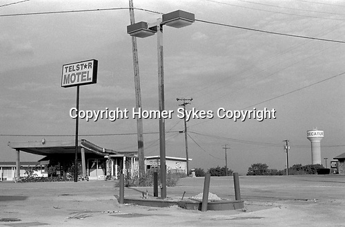 Decatur Texas, the Telstar Motel 1999 USA.