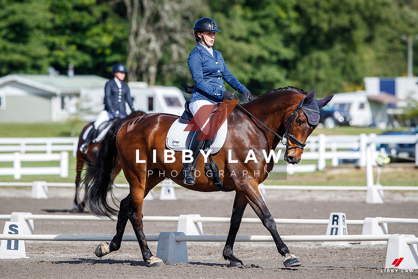 NZL-Jess Allsop rides Regal Salvation. 2020 NZL-Bates Saddles NZ Dressage Championships. NEC Taupo. Thursday 19 November 2020. Copyright Photo: Libby Law Photography