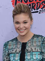 Olivia Holt @ the 2016 iHeart Radio Music awards held @ the Forum.<br /> April 3, 2016