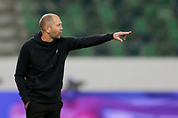 ST. GALLEN, SWITZERLAND - MAY 30: Gregg Berhalter  head coach of the United States gives instructions to his players during a game between Switzerland and USMNT at Kybunpark on May 30, 2021 in St. Gallen, Switzerland.