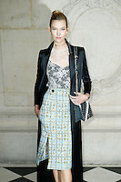 Paris, France September 27 : Karlie Kloss attends the Christian Dior Ready To Wear Spring/Summer 2017 show as part of Paris Fashion Week on September 27; 2016 in Paris, France. # FASHION WEEK - PEOPLE AU DEFILE DIOR.