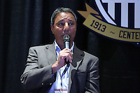 INDIANAPOLIS, IN - January 18, 2013: 1995 and 1999 World Cup coach Tony DiCicco. U.S. Soccer hosted a World Cup Coaches and Captains panel at the Indiana Convention Center in Indianapolis, Indiana during the NSCAA Annual Convention.