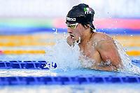 CAROLETTA Francesco ITA <br /> Men 200m Breaststroke Semifinal<br /> swimming, nuoto<br /> LEN European Junior Swimming Championships 2021<br /> Rome 2179<br /> Stadio Del Nuoto Foro Italico <br /> Photo Andrea Masini / Deepbluemedia / Insidefoto