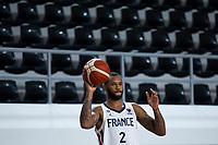 22nd February 2021, Podgorica, Montenegro; Eurobasket International Basketball qualification for the 2022 European Championships, England versus France;  Amath M'Baye of France