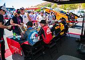 Toyota Racing Experience, fans, crowd, autographs, Richie Crampton, Doug Kalitta, Antron Brown