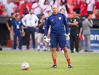 Washington, DC - September 4, 2015:  The USMNT defeated Peru 2-1 during their international friendly at RFK Stadium .