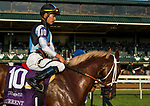 October 07 2018 : Current with Jose Ortiz up wins the Dixiana Bourbon States at Keeneland Racecourse on October 07, 2018 in Lexington, Kentucky. Evers/ESW/CSM